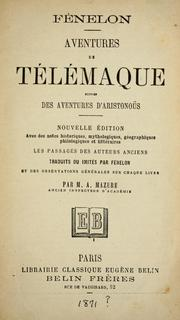 Cover of: Aventures de T©♭l©♭maque