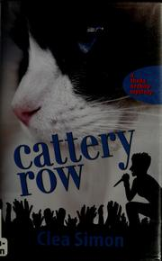Cover of: Cattery Row