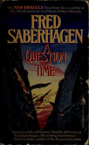 Cover of: A question of time
