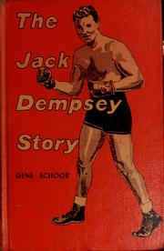 Cover of: The Jack Dempsey story