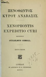 Cover of: Expeditio Cyri | Xenophon