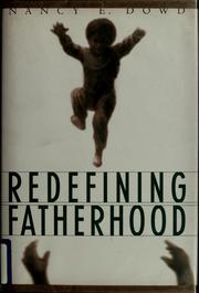 Cover of: Redefining fatherhood
