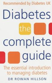 Cover of: Diabetes | Rowan Hillson