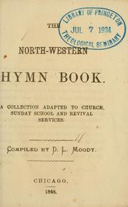Cover of: North-western hymn book