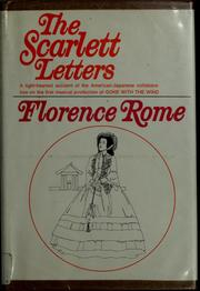Cover of: The Scarlett letters
