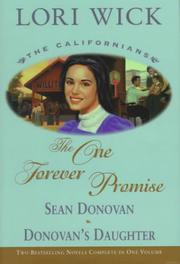 Cover of: The One Forever Promise: Sean Donovan/Donovan's Daughter (The Californians 3-4)