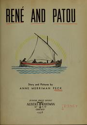 Cover of: René and Patou | Anne Merriman Peck