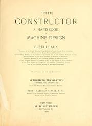 Cover of: The constructor