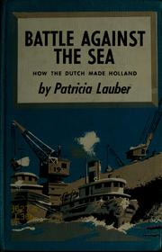 Cover of: Battle against the sea