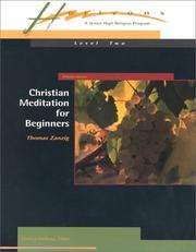 Cover of: Christian Meditation for Beginners (Minicourses)