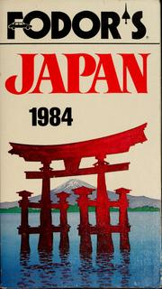Cover of: Fodor's Japan, 1984