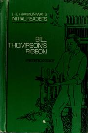 Cover of: Bill Thompson's pigeon
