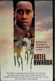 Cover of: Hotel Rwanda | Terry George
