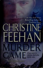 Cover of: Murder game |