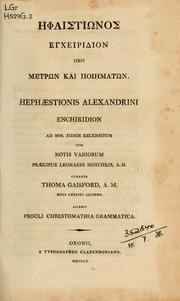 Cover of: Enchiridion; ad MSS. fidem recensitum
