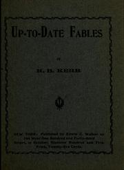 Cover of: Up-to-date fables