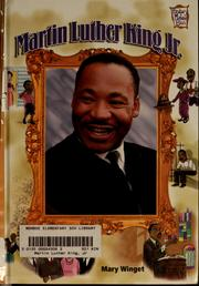 Cover of: Martin Luther King Jr
