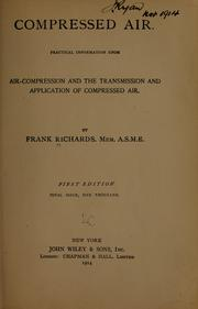 Cover of: Compressed air | Richards, Frank