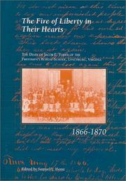 Cover of: The Fire of liberty in their hearts