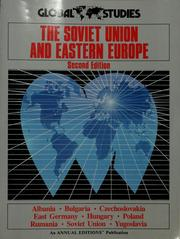 Cover of: The Soviet Union and Eastern Europe