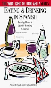 Cover of: Eating & drinking in Spanish