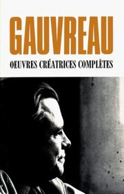 Cover of: Œuvres créatrices complètes