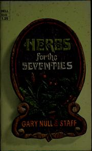 Cover of: Herbs for the