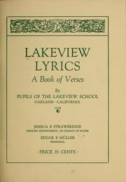 Cover of: Lakeview lyrics |