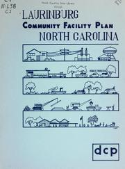 Community facilities plan for Laurinburg, North Carolina by North Carolina. Division of Community Planning