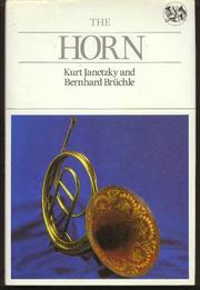 Cover of: The horn | Kurt Janetzky