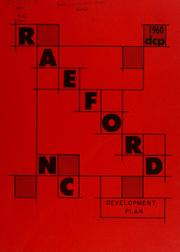 Cover of: Raeford, N.C., development plan | North Carolina. Division of Community Planning