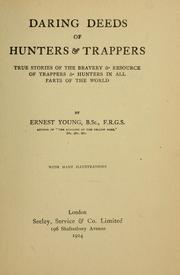 Cover of: Daring deeds of hunters & trappers