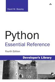 Cover of: Python Essential Reference