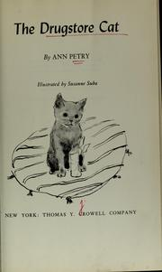 Cover of: The drugstore cat