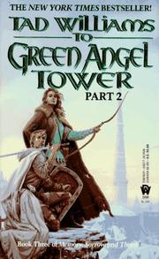 Cover of: To Green Angel Tower, Part 2 (Memory, Sorrow, and Thorn, Book 3)