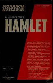 Cover of: Shakespeare's Hamlet