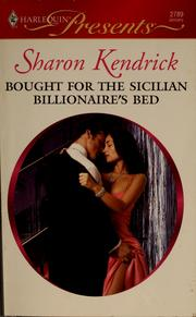 Cover of: Bought for the Sicilian billionaire