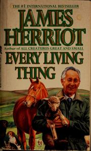 Cover of: Every living thing | James Herriot
