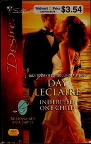 Cover of: Inherited: one child | Day Leclaire