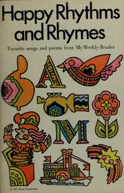 Cover of: Happy rhythms and rhymes | Patricia M. Cavanaugh