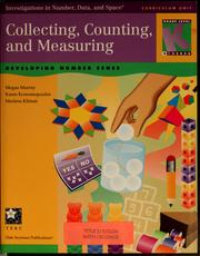 Cover of: Collecting, counting and measuring | Megan Murray