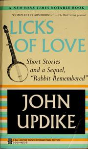 Cover of: Licks of love