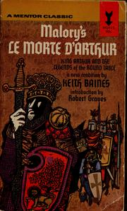 Cover of: Malory's Le morte d'Arthur | Sir Thomas Malory