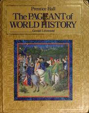 Cover of: The pageant of world history