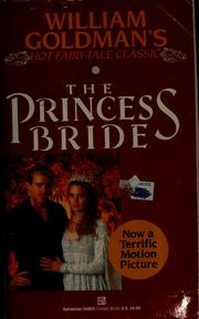 Cover of: The princess bride