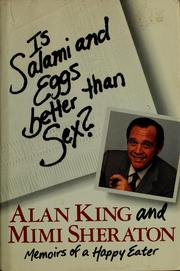 Cover of: Is salami and eggs better than sex?