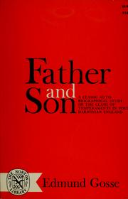 Cover of: Father and son | Edmund Gosse