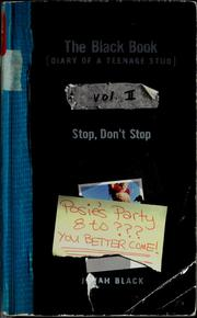 Cover of: Stop, don