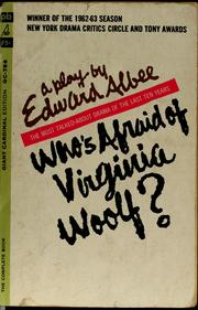Cover of: Who's afraid of Virginia Woolf