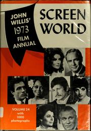 Cover of: Screen world 1973